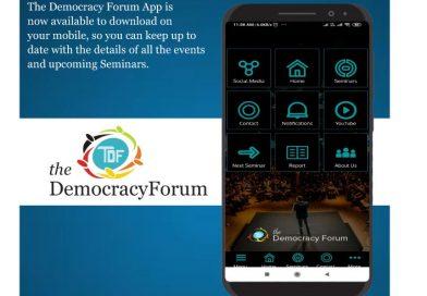 THE DEMOCRACY FORUM APP
